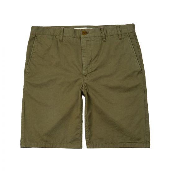 Aros Light Twill Shorts Ivy Green N35 0237 8098