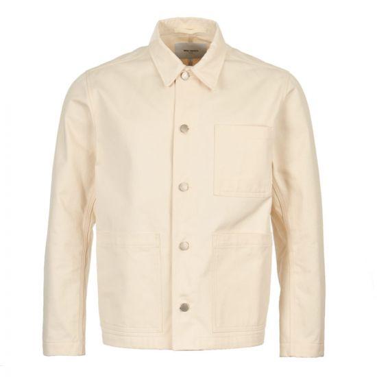 norse projects jacket tyge N50 0126 0957 ecru