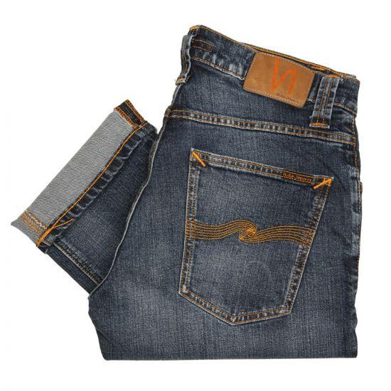 Nudie Grim Tim Jeans Twisted Blue 11523