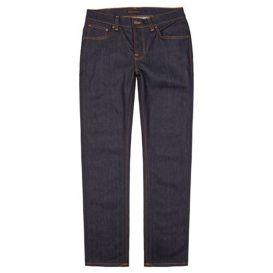 Nudie Jeans Grim Tim Dry in Open Navy 112223