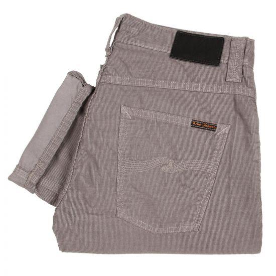 Nudie Grim Tim Jeans Grey Cord
