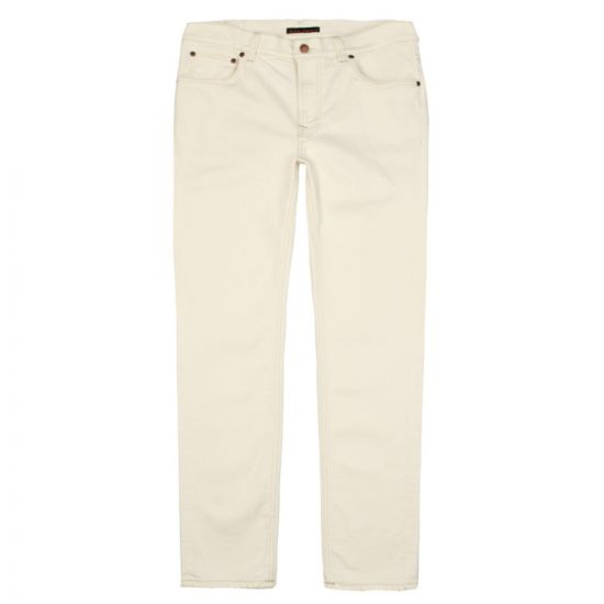 Nudie Jeans Lean Dean 112905 in Ecru