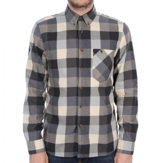 Nudie Jeans Stanley Shirt in Light Check Blue