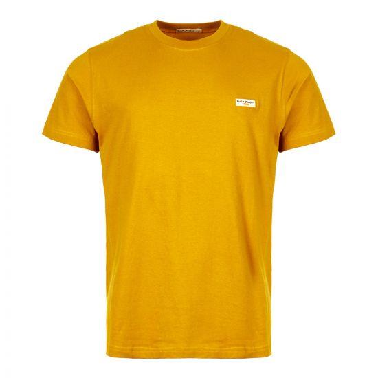 Nudie Jeans T-Shirt 131613 in Turmeric