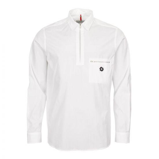 OAMC Zip Shirt I025553 02 00 White