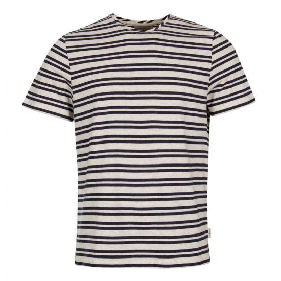 Oliver Spencer OSMK580 T-Shirt Navy / Grey