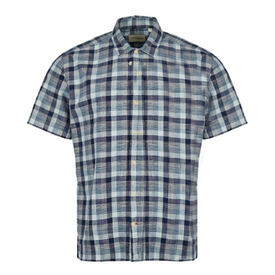 Oliver Spencer Short Sleeve Shirt | OSMS102 OTT01 BLU Blue