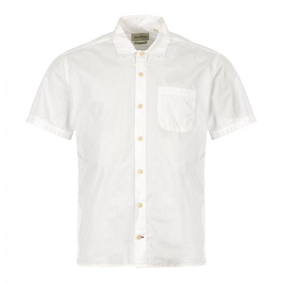 Oliver Spencer Short Sleeve Shirt | OSMS102 ABB01 White