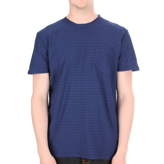 oliver spencer t shirt track navy