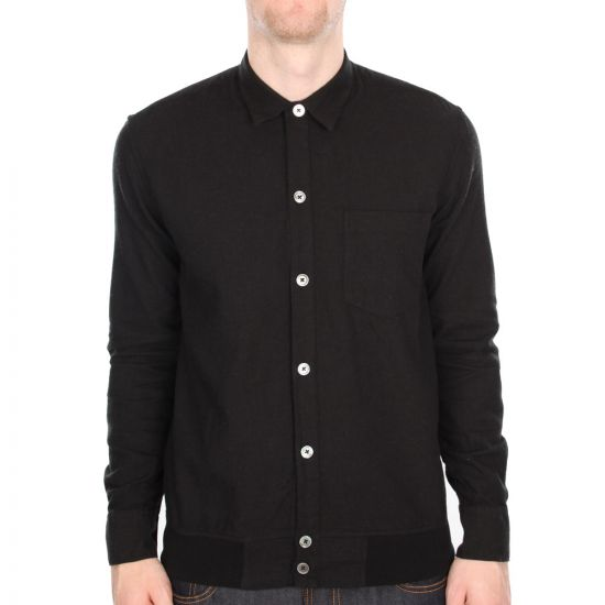 Our Legacy Bomber Shirt in Black
