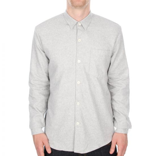 Our Legacy Six Shirt in Raster Grey