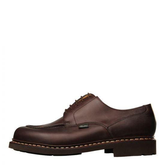 Paraboot Chambord Tex Shoes 710707 Cafe