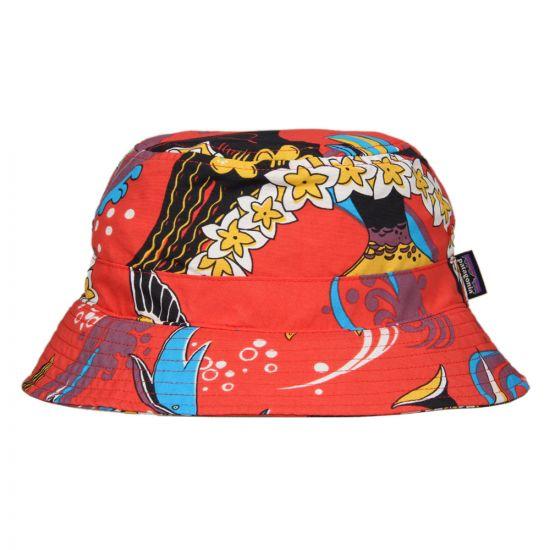 Patagonia Wavefarer Bucket Hat - Turkish Red