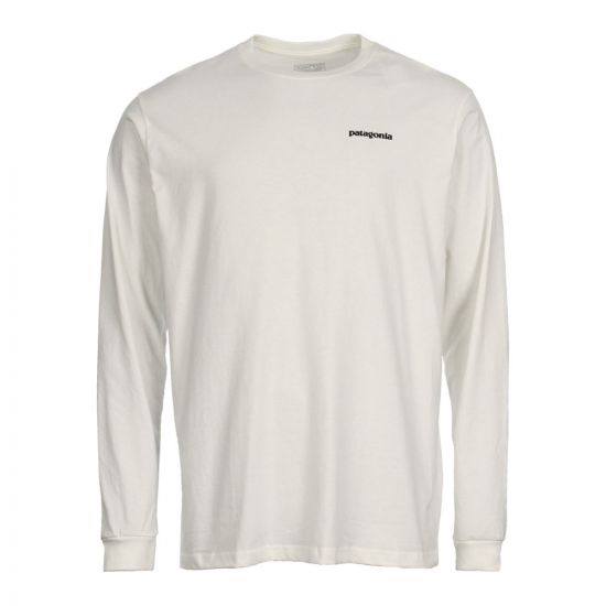 Patagonia T-Shirt Long Sleeved 38933WHT In White