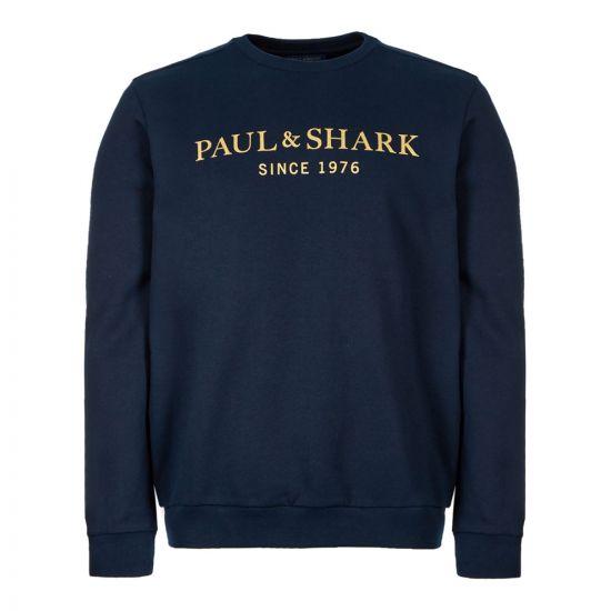 Paul & Shark Sweatshirt   A19P1829 013 Navy