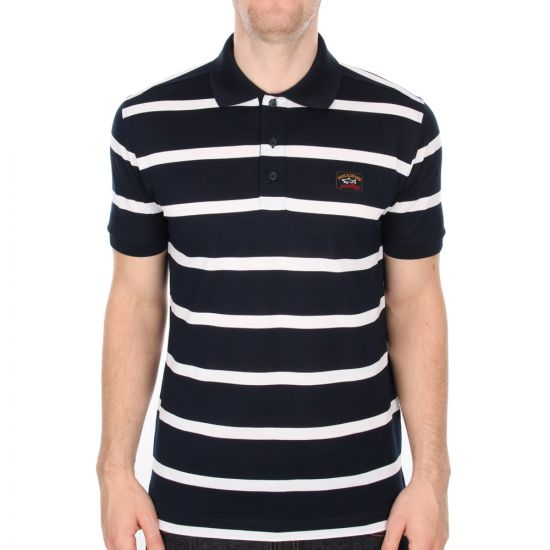Polo - Navy Stripe