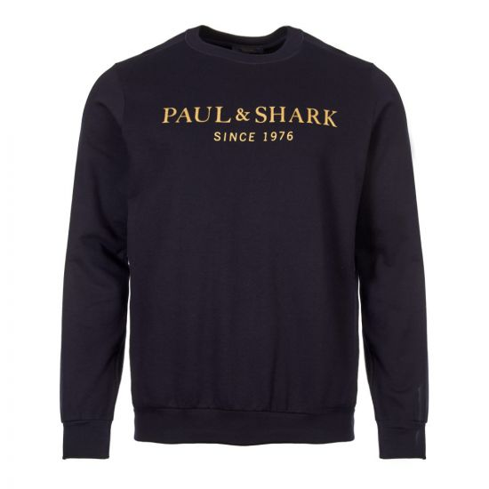 Paul & Shark Sweatshirt | P191820 013 Navy