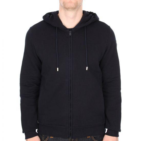 Zip Hoody - Navy