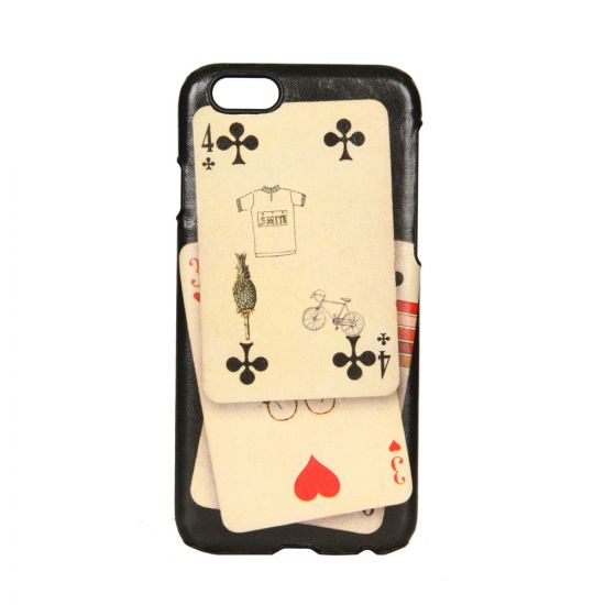 Paul Smith Accessories iPhone 6 Case in Cards Print
