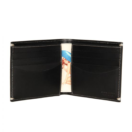 Paul Smith Glam Leather Billford Wallet in Black