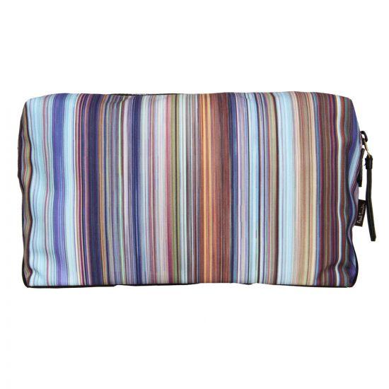 Paul Smith Accessories Multi Stripe Wash Bag