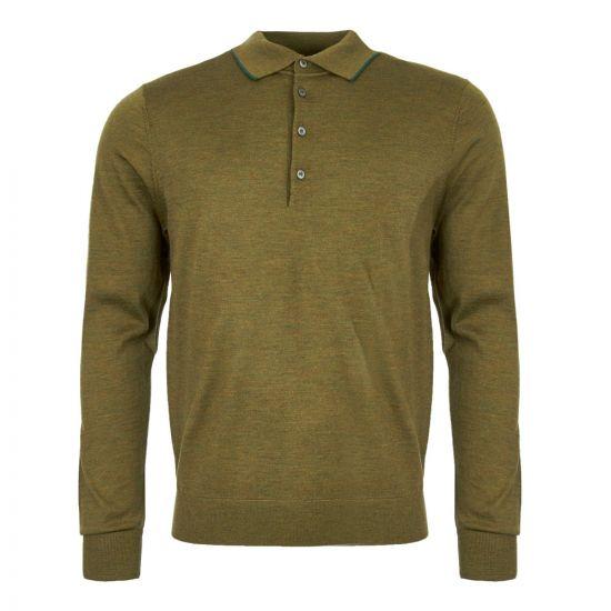 Paul Smith Polo Shirt M2R 003T A20267 35 Green