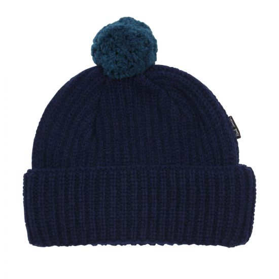 Paul Smith Accessories Bobble Hat in Navy
