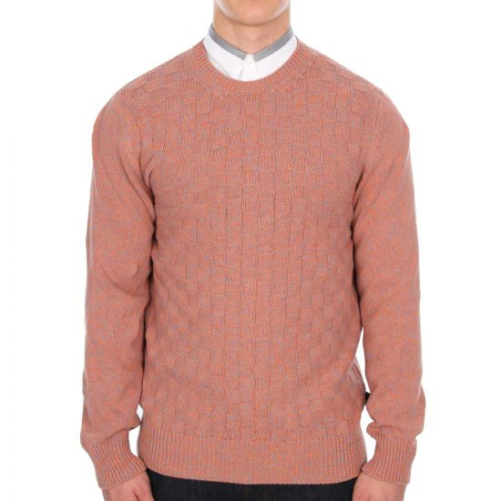 paul smith jeans jumper in salmon