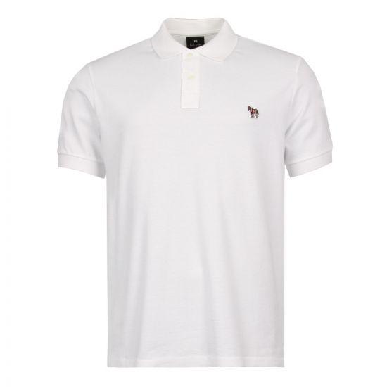Paul Smith Polo Shirt PUPD183KZEBRA01 White