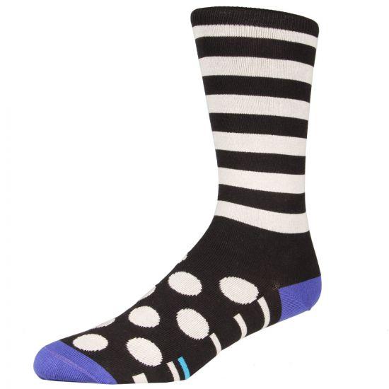 Paul Smith Stripes and Spots Socks Black