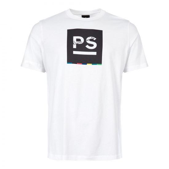 Paul Smith T-Shirt   M2R 011R AP1344 01 White
