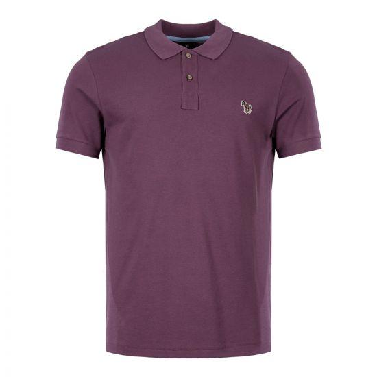 Paul Smith Polo Shirt | M2R 534LZ C20067 54 Aubergine