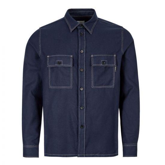 Paul Smith Shirt   M2R 157T A20683 49 Navy