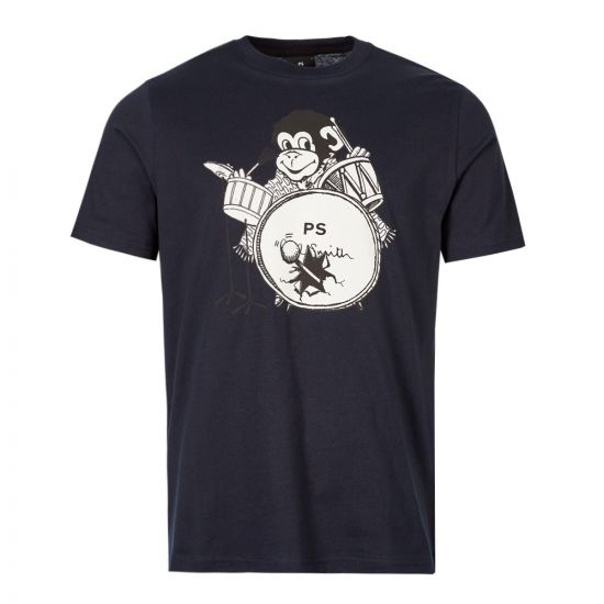 Paul Smith T-Shirt M2R 011R AP1530 49 Navy