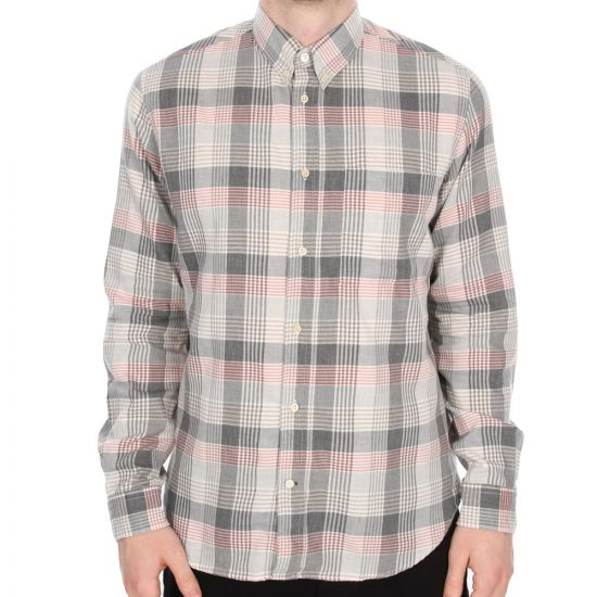Paul Smith Jeans Grey Checked Shirt