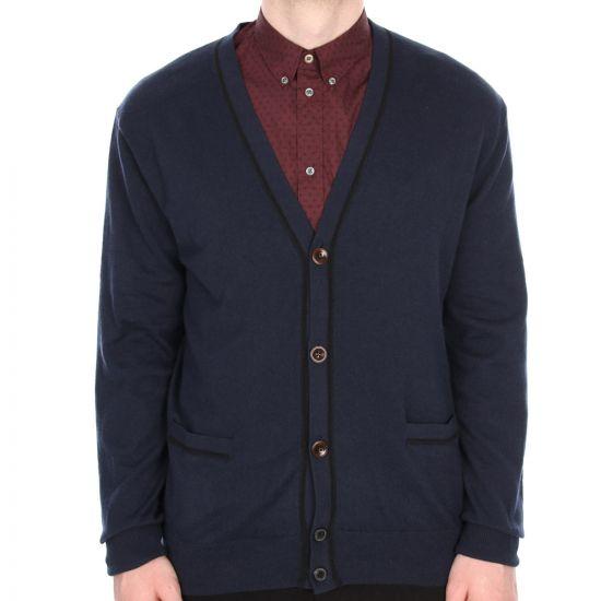 paul smith jeans navy cardigan