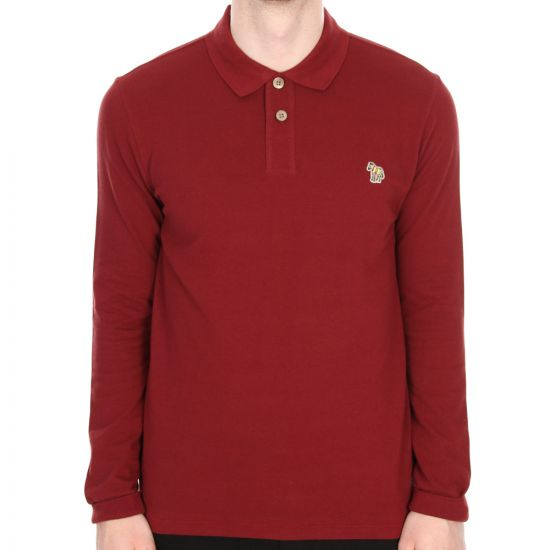 Paul Smith  Long Sleeve Polo Red 115L/452Z