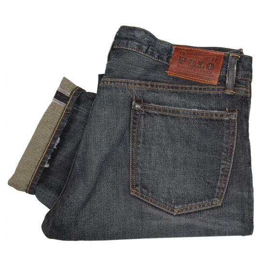 Ralph Lauren Varick Jeans in Navy