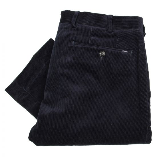 Ralph Lauren Hudson Cord Trousers in Worth Navy