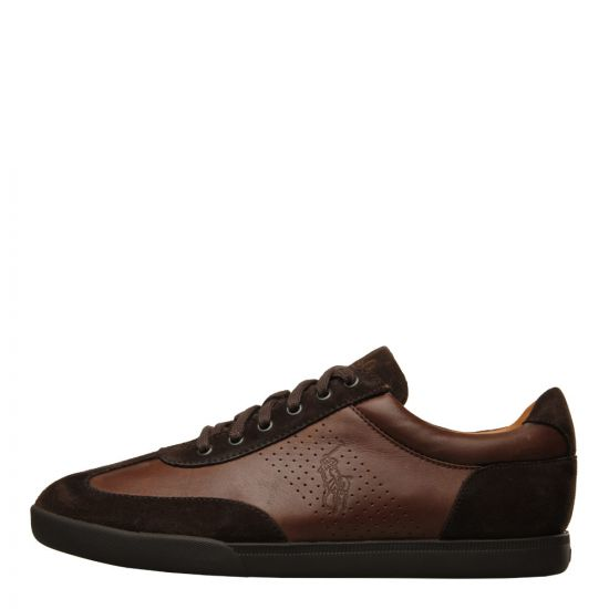 Ralph Lauren Cadoc Sneakers 8167 10075 004 Brown