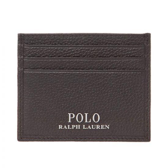 Ralph Lauren Card Holder Wallet 405710795 002 Brown