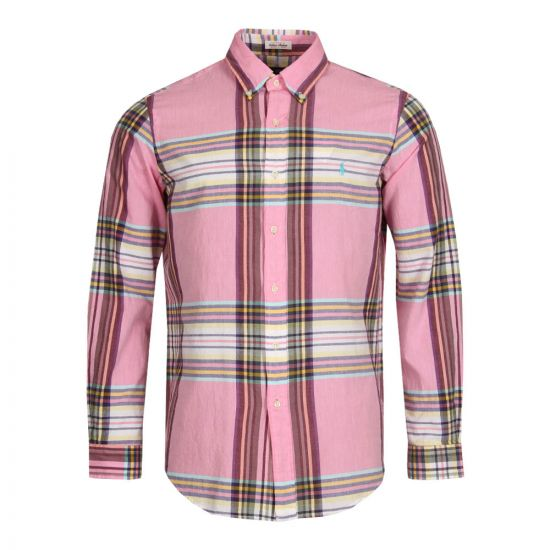 Ralph Lauren Check Shirt in Pink Multi