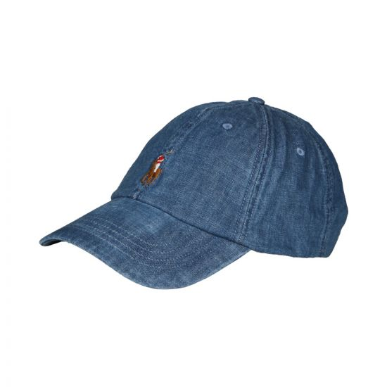 Ralph Lauren Sports Cap 710674341 001 Denim
