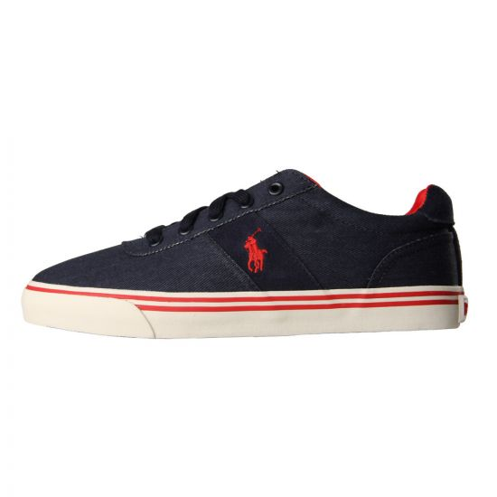 Ralph Lauren Hanford Trainers Newport Navy
