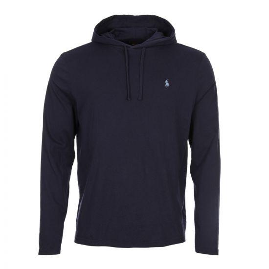 Ralph Lauren Hooded T-Shirt 710652669 015 Navy