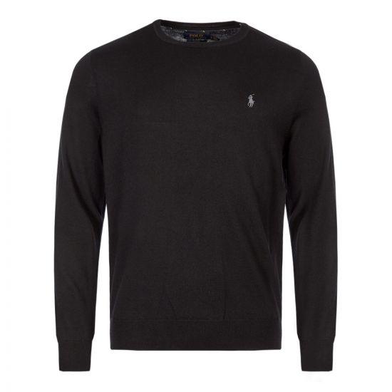 Ralph Lauren Sweater Crew Neck | 710714346 001 Black