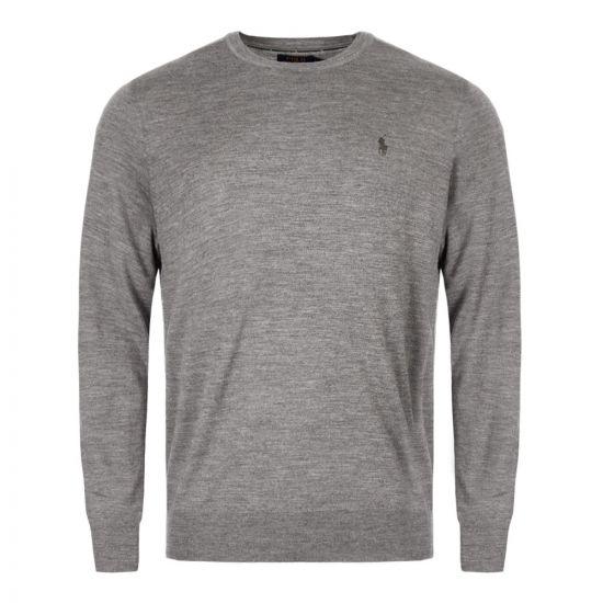 Ralph Lauren Sweater Crew Neck | 710714346 005 Grey