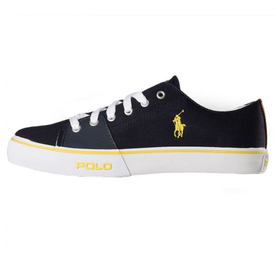Ralph Lauren Cantor Low Trainers Navy A85Y0276