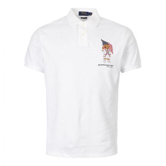 Ralph Lauren Polo Shirt   710755846 001 White