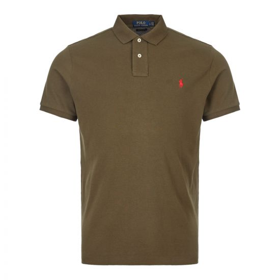 Ralph Lauren Polo Shirt 710680784 096 Olive